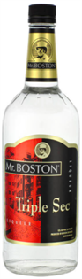 Mr. Boston Liqueur Triple Sec 1.00l - Case of 12